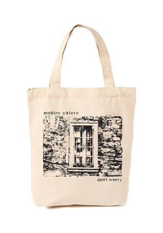 MOBINA GALORE - Don't Worry Tote Bag