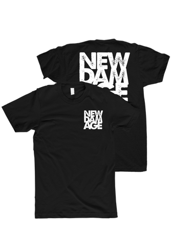 NEW DAMAGE - Logo T-Shirt (Black) - New Damage Records