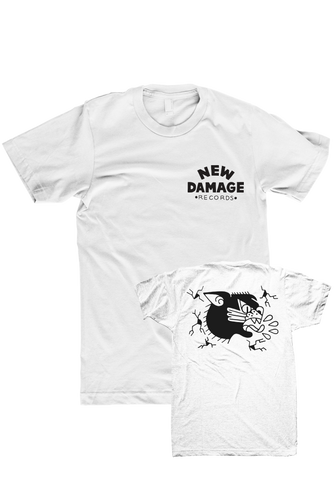 NEW DAMAGE - Logo T-Shirt (White)