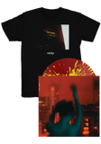 RARITY - The Longest Lonesome (Translucent Red w/ Yellow Splatter LP) + T-Shirt