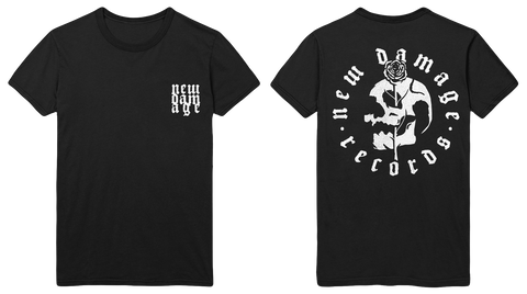NEW DAMAGE - Logo T-Shirt (Black Slate) - New Damage Records