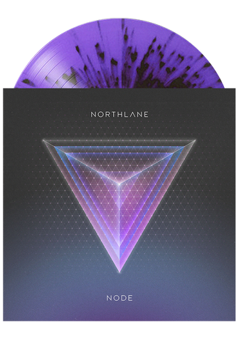 NORTHLANE - Node (Purple Split w. Splatter LP) - New Damage Records