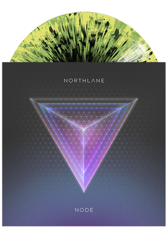 NORTHLANE - Node (Black & Yellow Splatter LP) - New Damage Records