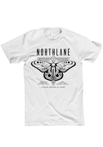 Northlane - T-Shirt (White) - New Damage Records