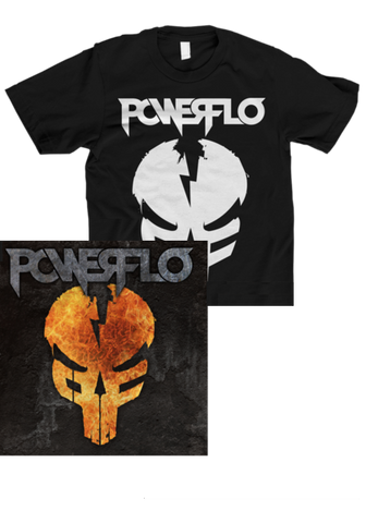POWERFLO - POWERFLO (CD + T-Shirt Bundle)