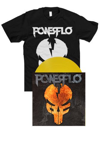 POWERFLO - POWERFLO (LP + T-Shirt Bundle)