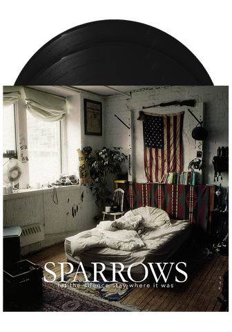 SPARROWS - Let The Silence Stay Where It Was (LP + Poster) - New Damage Records