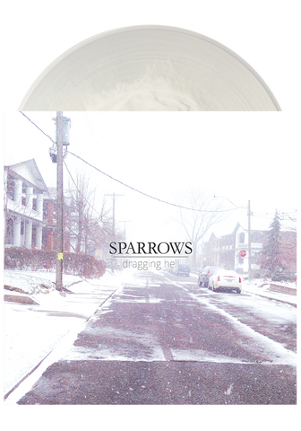 SPARROWS - Dragging Hell (Clear w. White LP) - New Damage Records