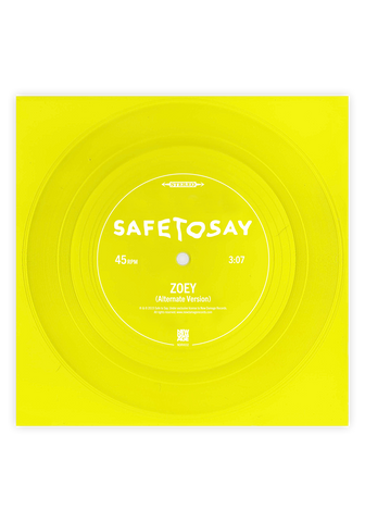 "Zoey (Yellow 7"" Flexi) - New Damage Records"