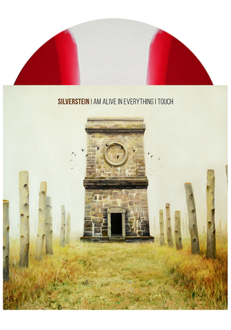 SILVERSTEIN - I Am Alive In Everything I Touch (Red & White Striped LP) - New Damage Records