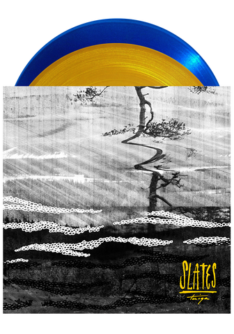 SLATES - Taiga (Translucent Blue & Gold LP) - New Damage Records