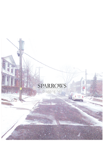 SPARROWS - Dragging Hell (CD) - New Damage Records