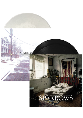 SPARROWS - Let The Silence Stay Where It Was + Dragging Hell - New Damage Records