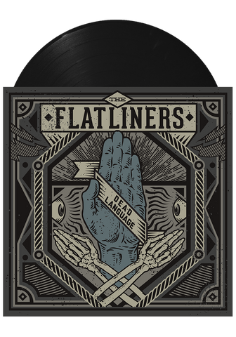 THE FLATLINERS - Dead Language (Black LP) - New Damage Records