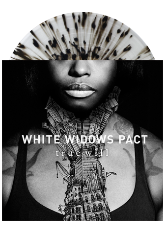 WHITE WIDOWS PACT - True Will (Clear w/ Black Splatter LP)