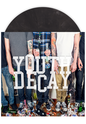 YOUTH DECAY - The Party's Over (Slate LP) - New Damage Records