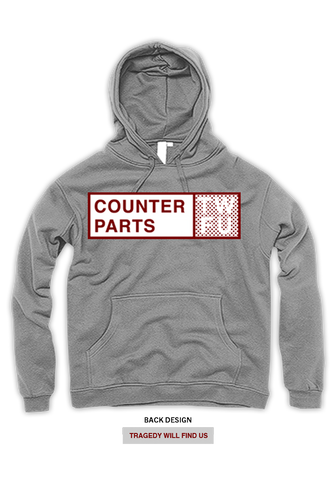 COUNTERPARTS - TWFU Hoodie - New Damage Records