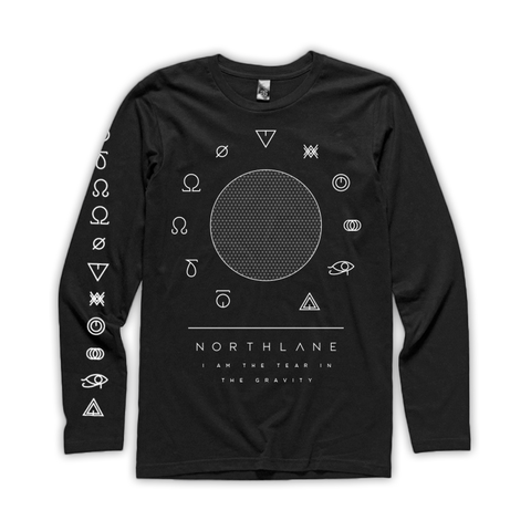 NORTHLANE - Long Sleeve (Black) - New Damage Records