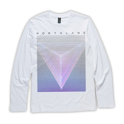 NORTHLANE - Long Sleeve (White) - New Damage Records