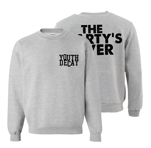 YOUTH DECAY - Crew Neck Sweater - New Damage Records