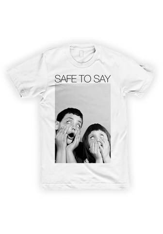 SAFE TO SAY - Hiding Games T-Shirt - New Damage Records