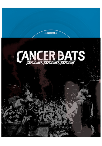 "CANCER BATS - Through & Through & Through 7"" (7"" Blue Flexi) - New Damage Records"