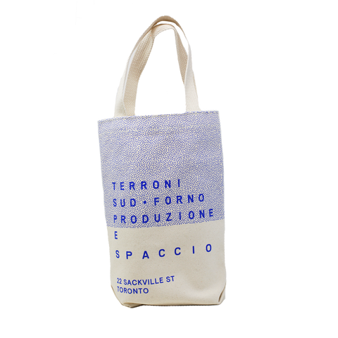 Spaccio Beige 2 Bottle Bag
