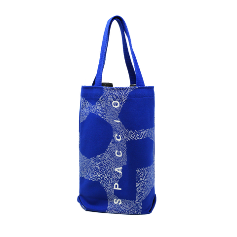 Spaccio Blue 2 Bottle Bag
