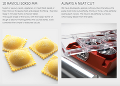 Ravioli Tablet with Rolling Pin