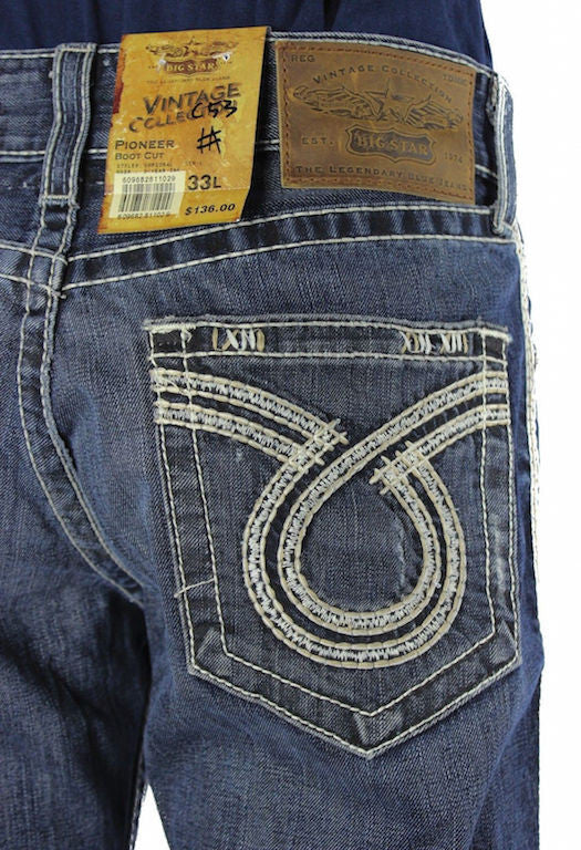 8b7485aac05 Big Star - Men's Pioneer Bootcut Jeans in Omega. – Blossom Boutique