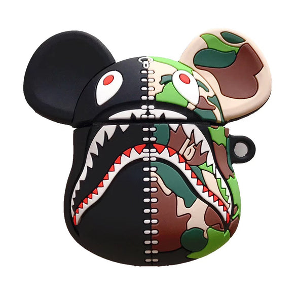 Bape Shark Inspired AirPods case