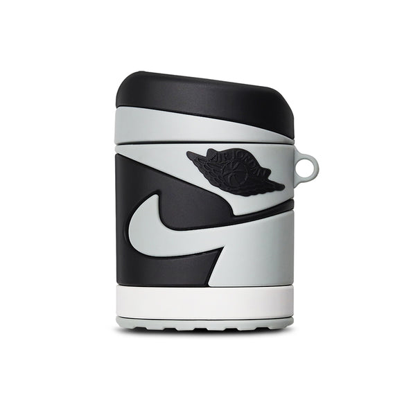 Air Jordan AirPods cases - Jordan 1 Grey and White