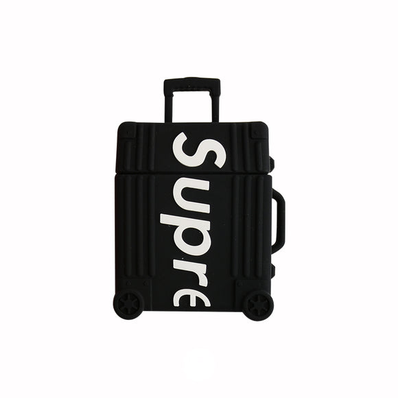 Airpods case -  BLACK suitcase