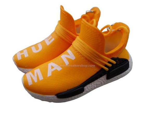 Mini sneaker keychain 3D Adidas x Pharrell Williams - Hue Man Yellow