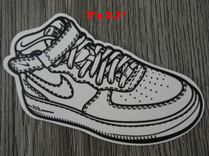 Air Force sneaker sticker