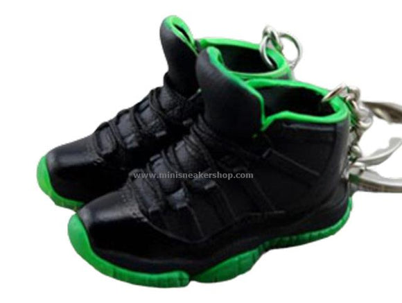 mini 3D sneaker keychains Air Jordan 11 XX8 days