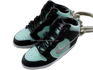 mini sneaker keychains Nike Dunk High Diamond