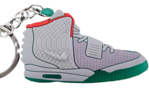 Flat Silicon Sneaker Keychain Yeezy 2 - NRG