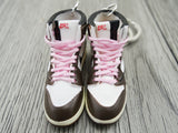 Mini sneaker keychain 3D Air Jordan 1 x Travis Scott - Cactus Jack