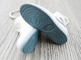 Mini sneaker keychain 3D Air Jordan 1 - White/ Deep Grey