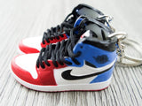 Mini sneaker keychain 3D Air Jordan 1 - Fearless