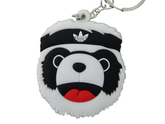 Flat silicon Sneaker Keychain P.A.N.D.A