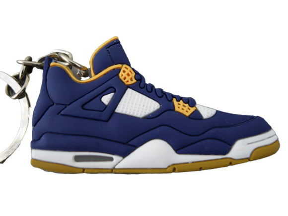 Flat Silicon Sneaker Jordan 4 - Blue Orange