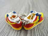 Mini 3D sneaker keychains BAPE - Yellow/Red/Blue