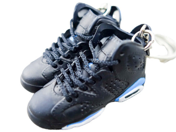Mini Sneaker Keychains Air Jordan 6 - Retro UNC