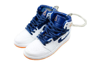 Mini sneaker keychain 3D Air Jordan 1 High Orange-Navy