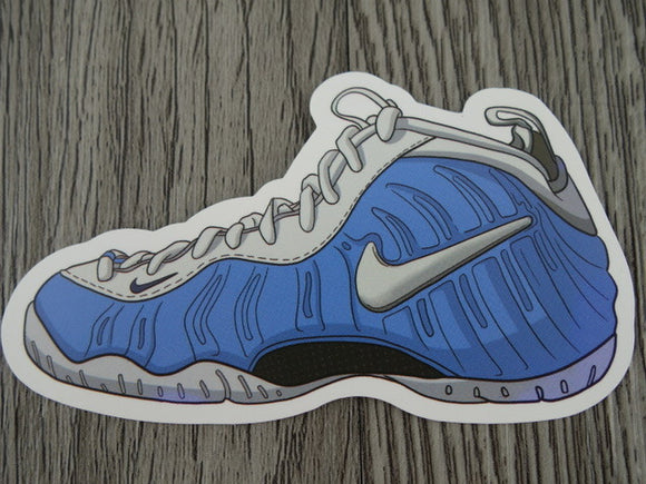 Nike Foamposite sneaker sticker - design B
