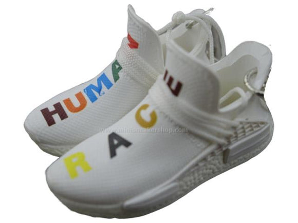 Mini sneaker keychain 3D Adidas x Pharrell Williams - Human Race - Multi