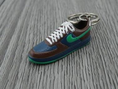 mini 3D sneaker keychains Air Force 1