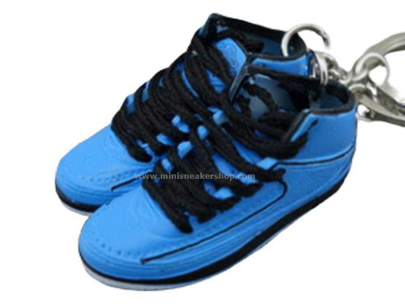 Mini Sneaker Keychains AJ2 - University Blue